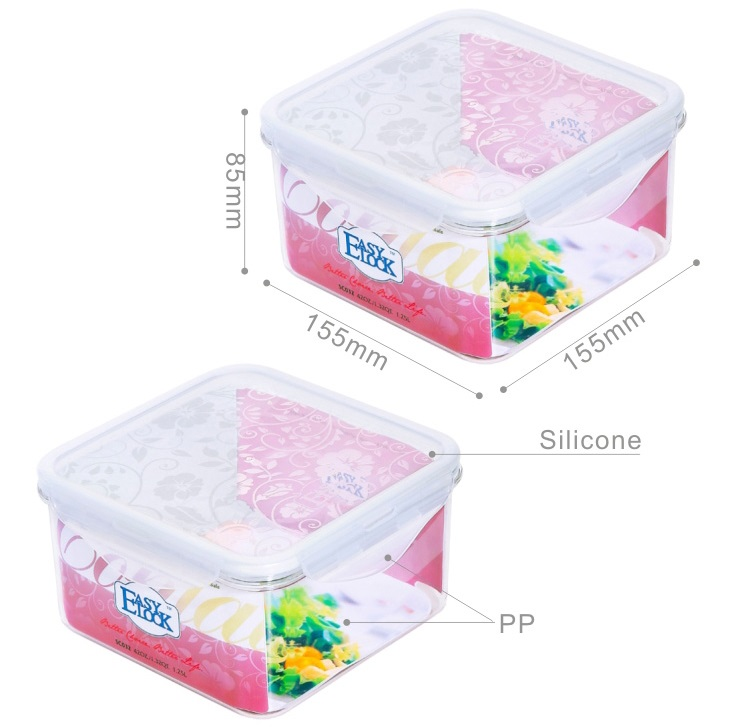 Large Plastic Food Storage Containers With Lids Easylock