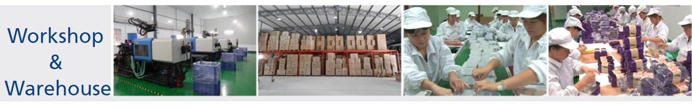 Workshop & Warehouse of Leqishi Plastic Factory