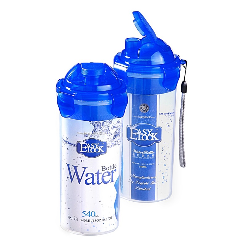 BPA Free PP Plastic Flip Top Water Bottles