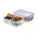Microwavable Divided Food Storage Containers with Airtight Lock Lid