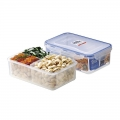 Food Grade PP Plastic Isolated-Layer Airtight Food Containers