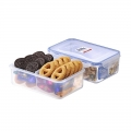 FDA Stackable Food Storage Containers for Freezing Food with Dividers