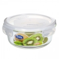 Easylock Large Glass Containers with Lids for Food Storage