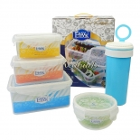 Freezer Safe Microwavable Food Containers Sets