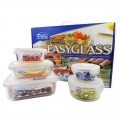 Hard Bakeware Microwave Safe Oven Safe Glass Food Container Set