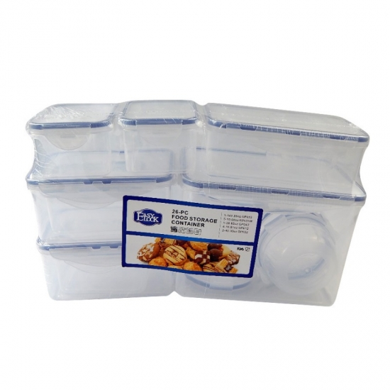 Easylock Chinese Storage Boxes BPA Free Plastic Food Containers