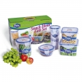 Promotional Airtight Food Grade Microwavable Food Storage Container Set