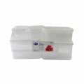 Clear BPA Free Food Grade Plastic Containers Sets