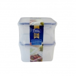 BPA Free Gift Set Food Containers with Plastic Lids