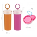 BPA Free Customized Kids Sport Water Bottles with Handle