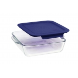 High Borosilicate Heat-Resistant Square Glass Bakeware