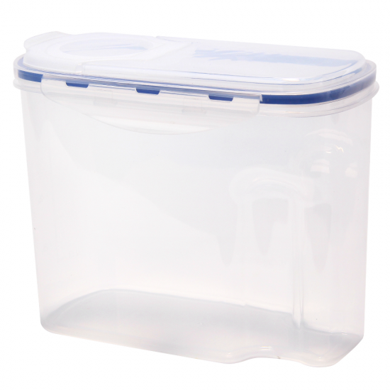 ... Tall Clear Airtight Cereal Server Breakfast Dry Food Storage Container  ...