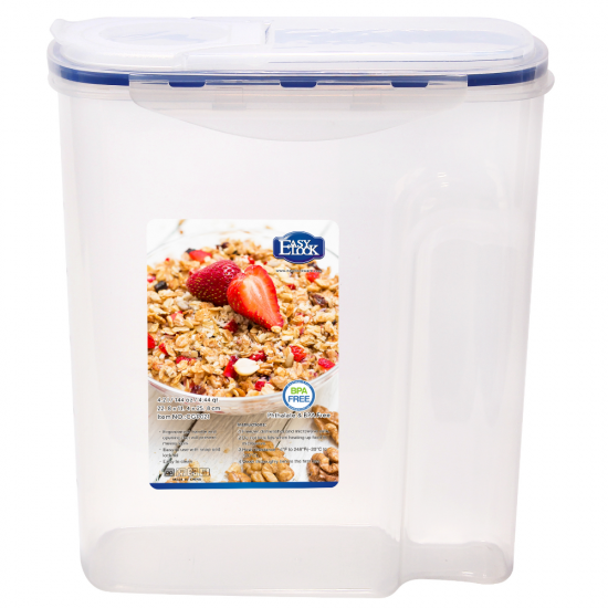 Plastic Dry Food Storage Containers