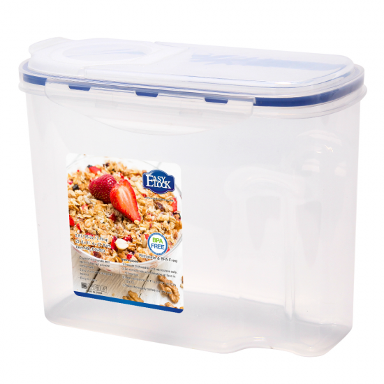 Plastic Dry Food Cereal Storage Boxes Manufacturers Easylock
