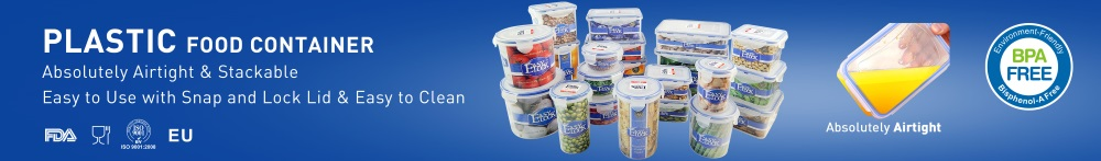 Isolated-Layer Plastic Food Container